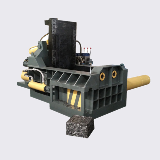 Horizontal Push Out Type Automatic Metal Scrap Baler